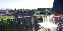 Ferienwohnung Ausblick Balkon